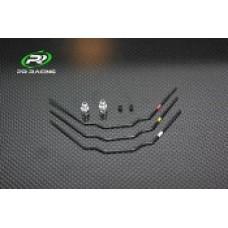 PR S1 V3 FM Sway Bar Set(1.2mm,1.3mm,1.4mm)