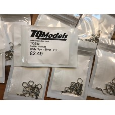 TQ Models Body Clips - Silver