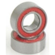 Ball Bearing - 4x8x3mm Red Seal - (pr)